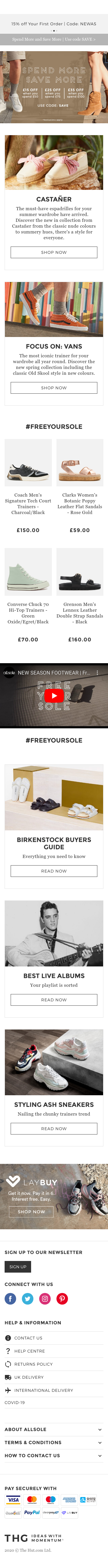 AllSole Coupon