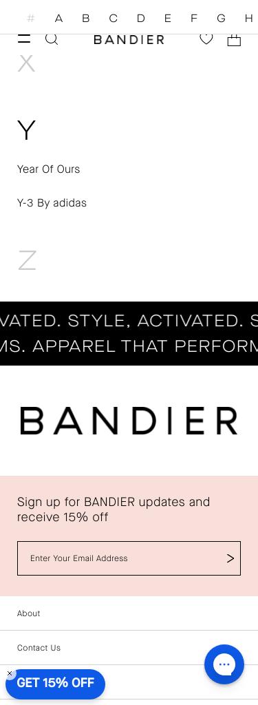 BANDIER Coupon