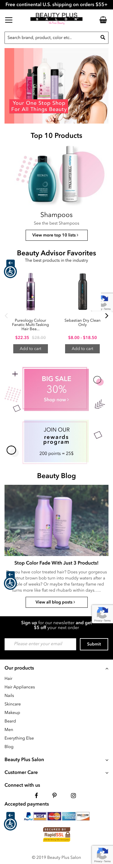 Beauty Plus Salon Coupon