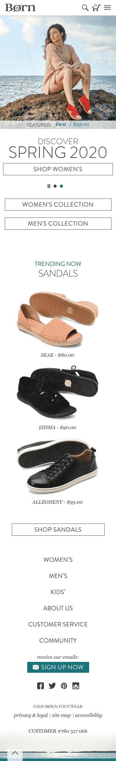 Born Shoes Coupon