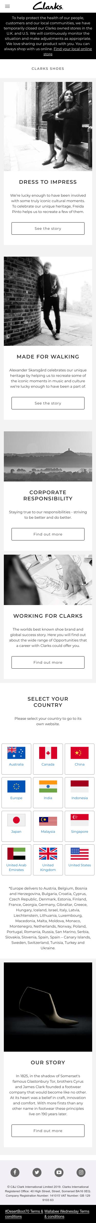Clarks Coupon