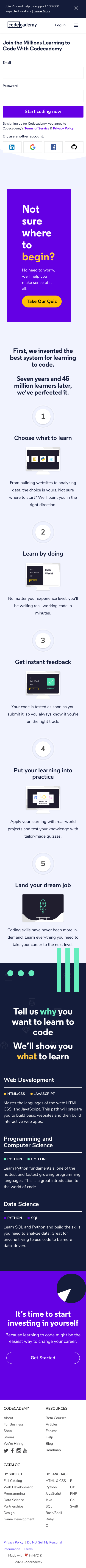 Codecademy Coupon
