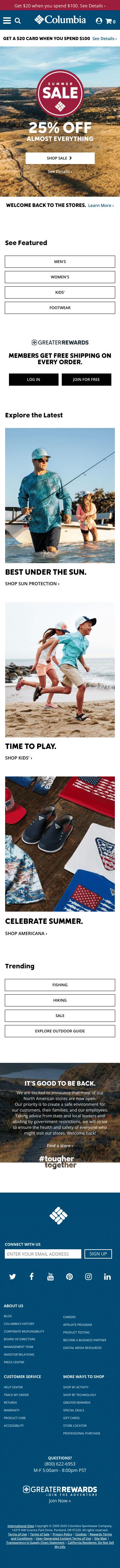 Columbia Sportswear Coupon