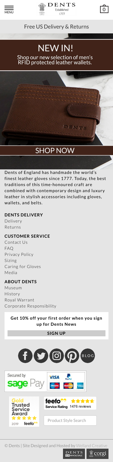 Dents Gloves Coupon
