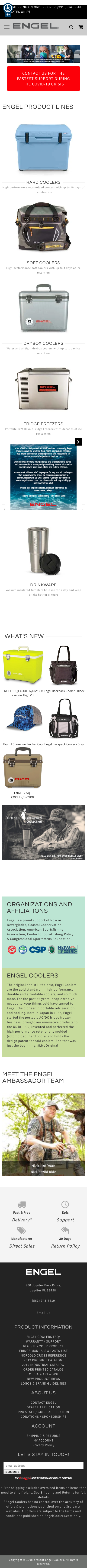 Engel Coolers Coupon