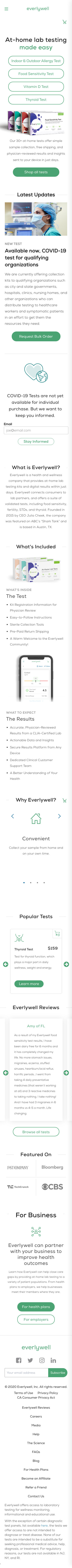 EverlyWell Coupon