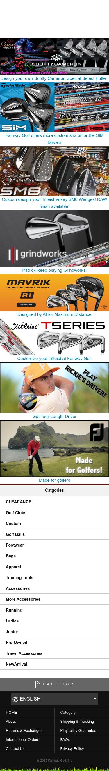 Fairway Golf Coupon