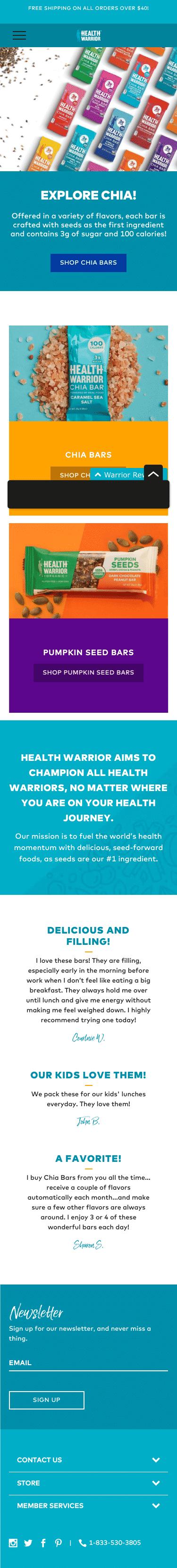 Health Warrior Coupon