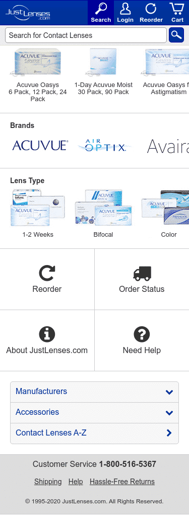 JustLenses Coupon