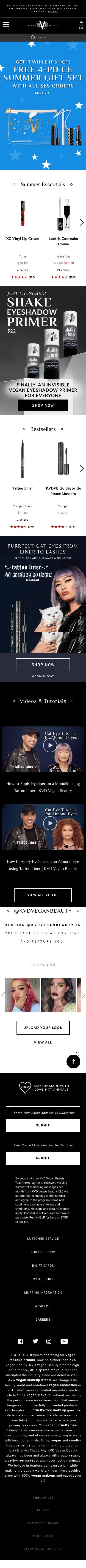 KVD Vegan Beauty Coupon