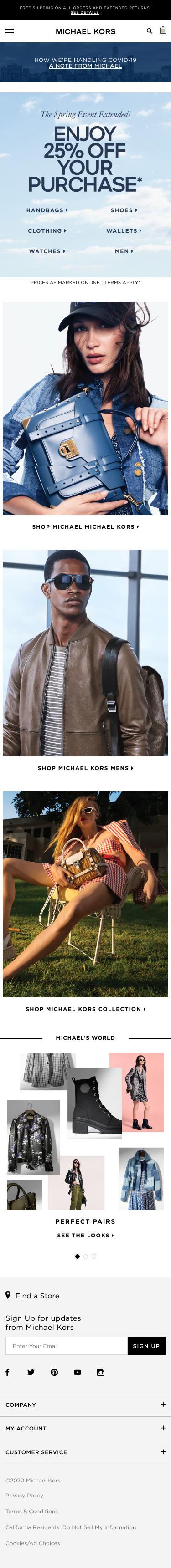 Michael Kors Coupon
