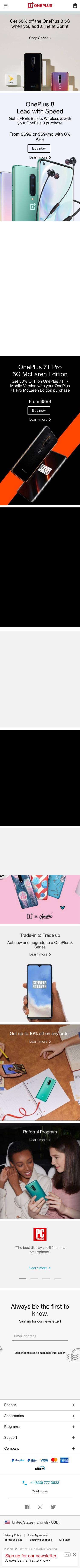 OnePlus (US & CA) Coupon