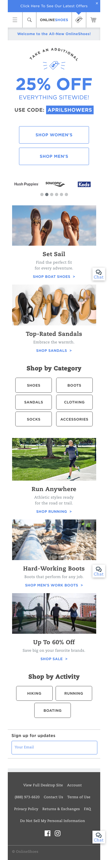 Onlineshoes.com Coupon