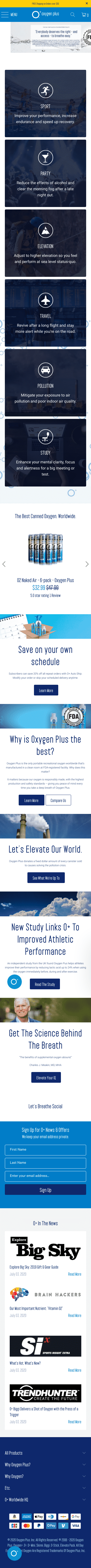 Oxygen Plus Coupon