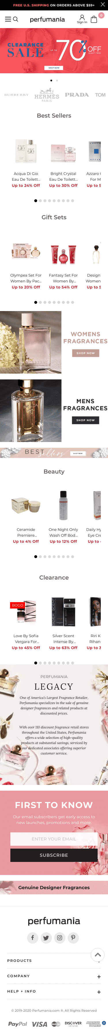 Perfumania.com Coupon