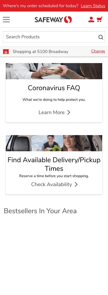 Safeway.com Coupon