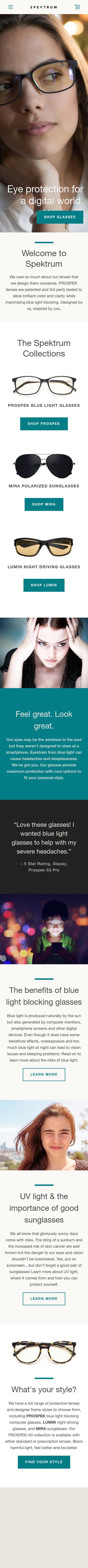 Spektrum Glasses Coupon