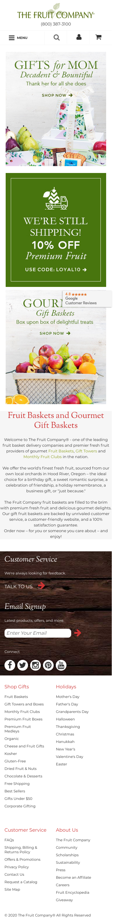 The Fruit Company Coupon