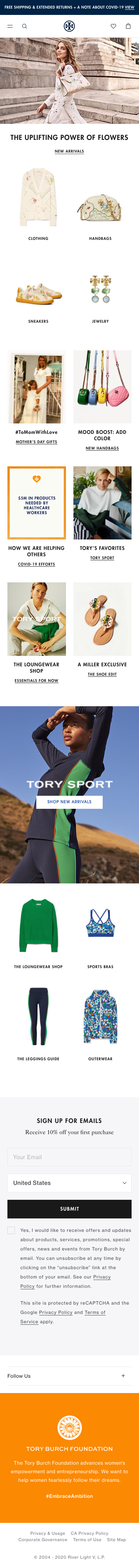 Tory Burch Coupon