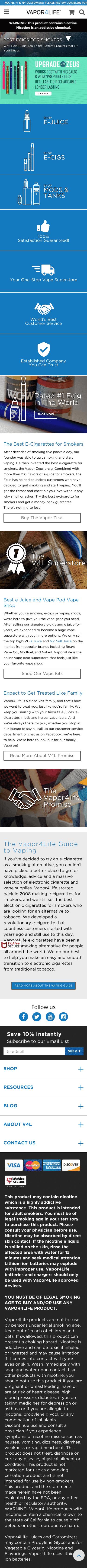 vapor4life Coupon