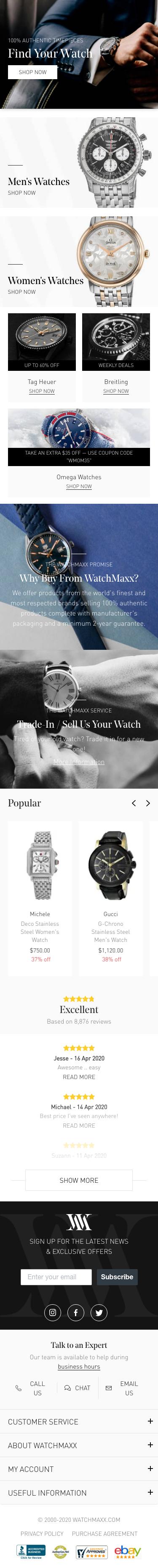 WatchMaxx Coupon