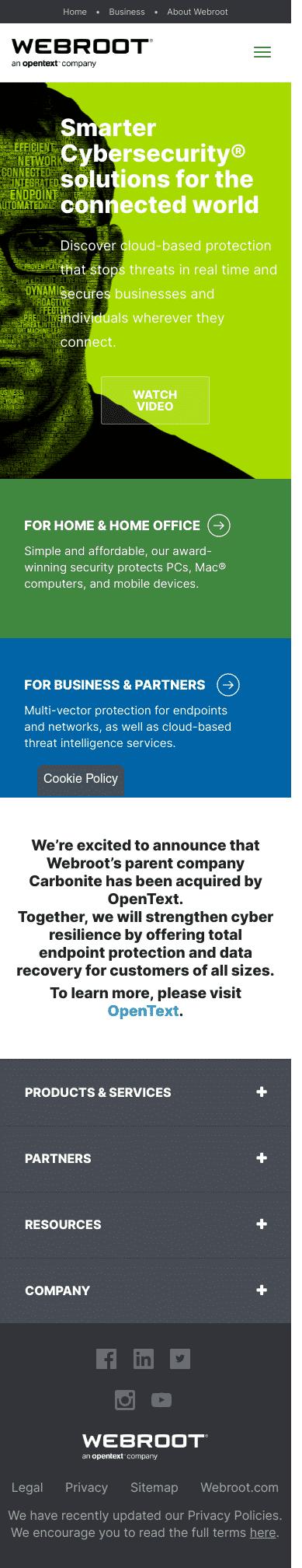 Webroot Coupon