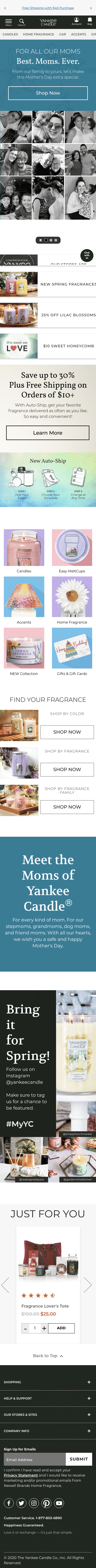 Yankee Candle Company Coupon
