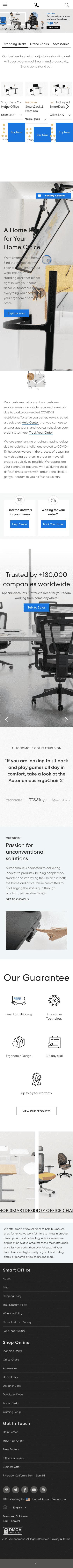 Autonomous Inc Coupon