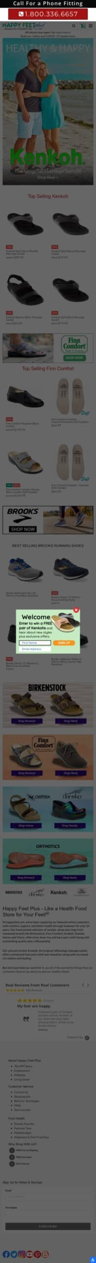 Happy Feet Plus: Shoes, Sandals and Clogs Coupon