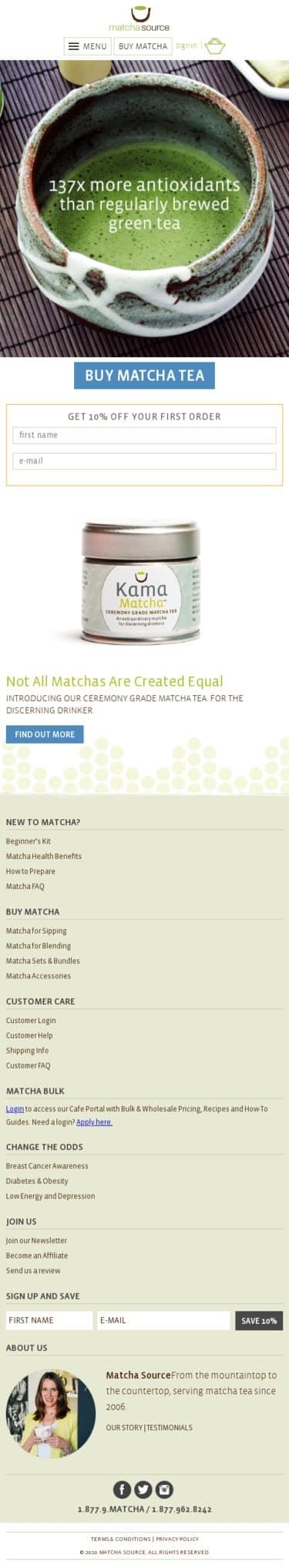 Matcha Source Coupon