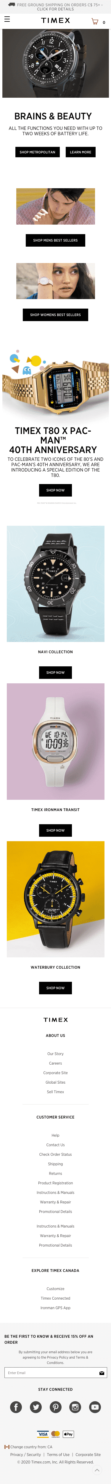 Timex US CAN Coupon