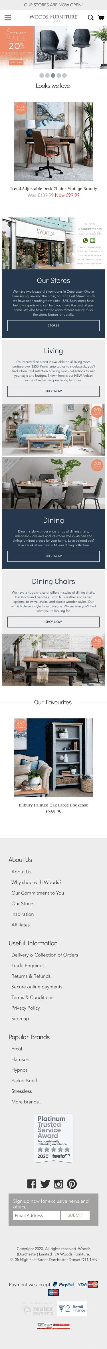 Woods Furniture Coupon