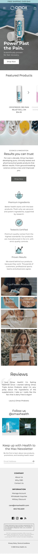 Omax Health Coupon