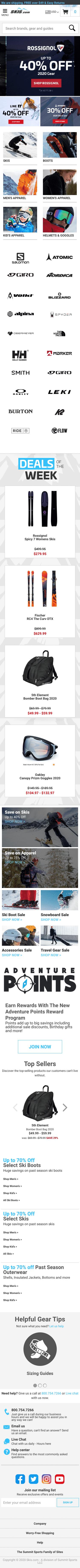 Skis.com US Coupon