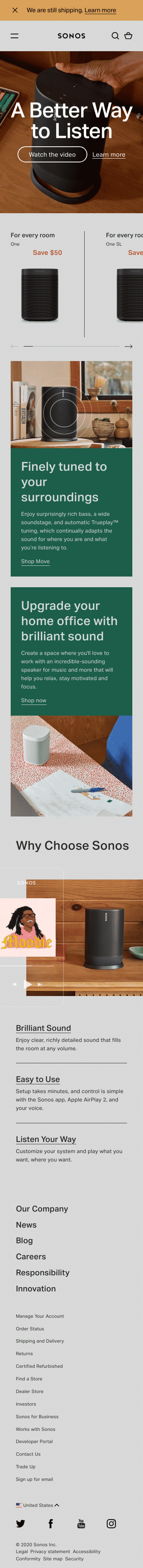 Sonos Audio Coupon