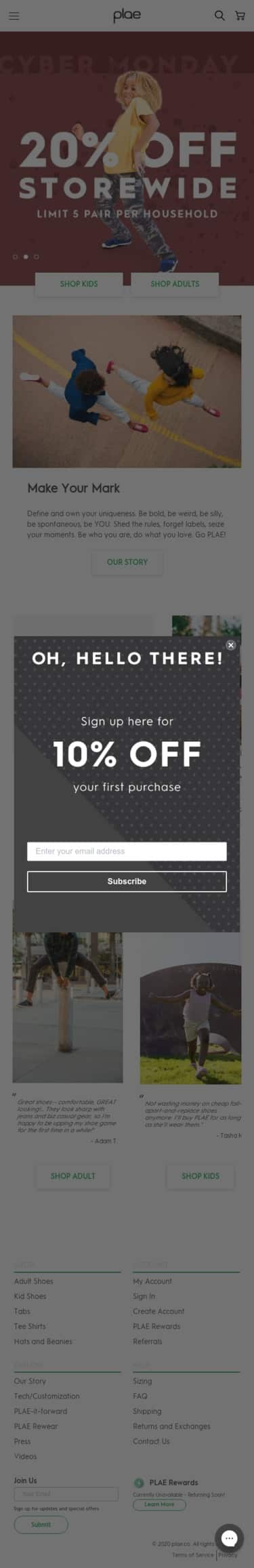 Plae.co Coupon