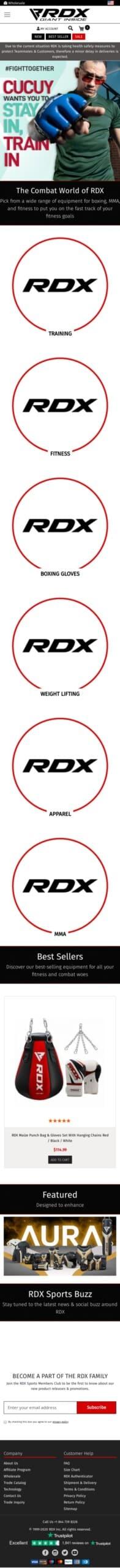 RDX Sports Coupon