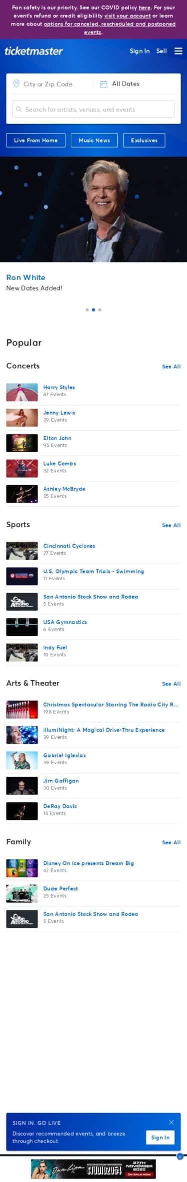 Shows - Caesars Entertainment Coupon