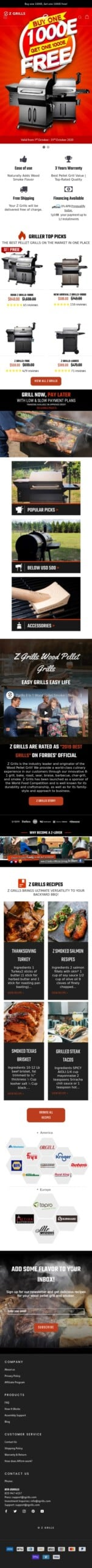 Z Grills Coupon