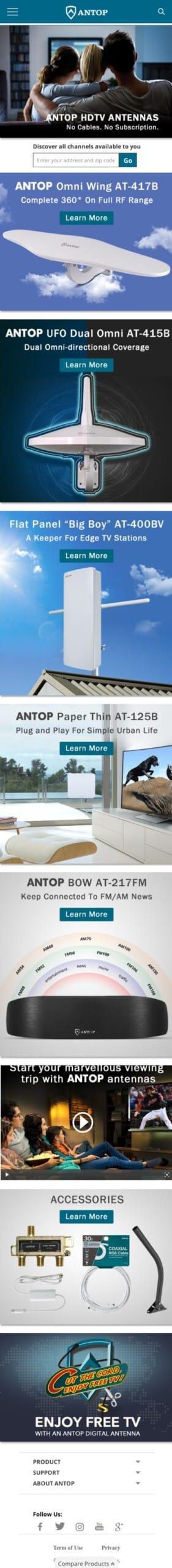 Antop Antenna Inc Coupon