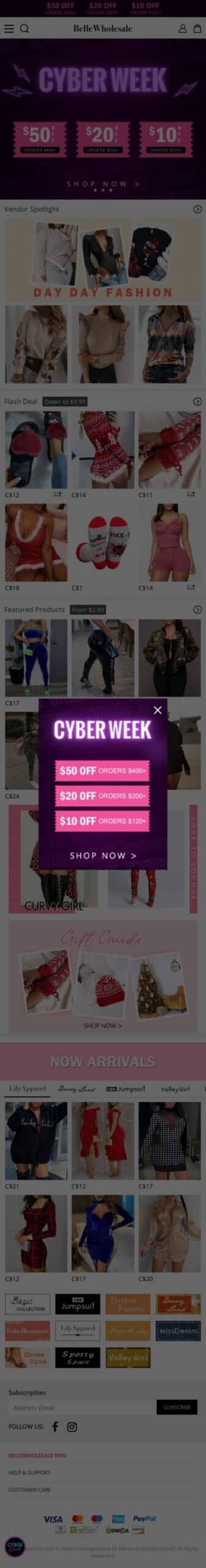 Bellewholesale Coupon