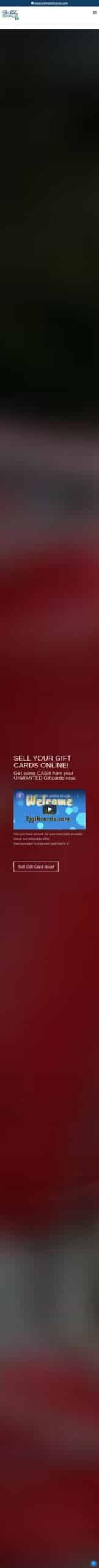 EJ Gift Cards Coupon